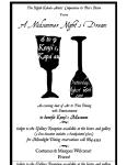 2008 Midsummer Night's Dream Fundraiser poster